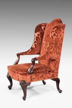 19th Century Wing Chair (Ref No. 4114) - Windsor House Antiques
