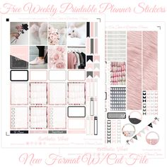 Free Aesthetic Vibes Printable With Silhouette Studio Cut File for the EC & Recollections Planner - Planner Onelove Free Planner, Happy Planner, Planner Ideas, Printable Planner Stickers, Printables, Printable Labels, Free Printable, Image Deco, Planner Organization