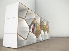 Low shelf closeup