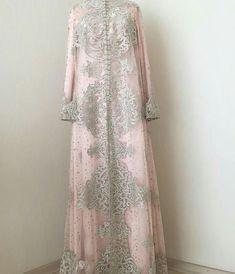 Kebaya 1 Muslimah Wedding Dress, Muslim Wedding Dresses, Muslim Dress, Modest Dresses, Stylish Dresses, Simple Dresses, Dress Brokat, Kebaya Dress, Abaya Fashion