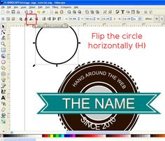 How to create a Vintage style Logo in Inkscape