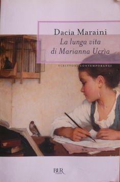 """La lunga vita di Marianna Ucria_Dacia Maraini_1990. Ritratto: """"Fanciulla che scrive""""_Henriette Browne"""