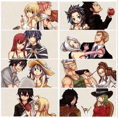 """188 Likes, 6 Comments - Emilie (@lucyxnatsu91) on Instagram: """"I ship all"""""""