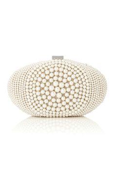 Petit sac en perles pour la mariée