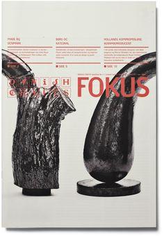 FOKUS Magazine Design by Rasmus Koch Studio