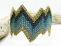 Zig Zag Black Macrame bracelet with beadsHandwoven Cuff Macrame Jewelry, Macrame Bracelets, Boho Jewelry, Unique Jewelry, Micro Macramé, Sliding Knot, Hippie Style, Luxury Jewelry, Crochet Earrings