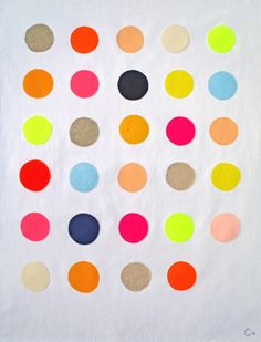 kate spade-could DIY a canvas like this
