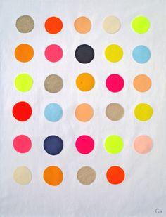 #RachelCastle #dots #colour