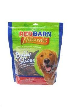 DOG TREATS - NATURAL PARTS - BULLY SLICES - USA - 9 OZ BAG - REDBARN PET PRODUCTS,INC. - UPC: 785184255001 - DEPT: DOG PRODUCTS