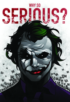 Joker Why So Serious Wallpaper High Definition Is Cool Wallpapers Comic Books Art, Comic Art, Harley Quinn Et Le Joker, Dc Comics, Nananana Batman, I Am Batman, Joker Batman, Superman, Heath Ledger Joker