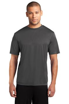 Port & Company Essential Performance Tee PC380 Charcoal