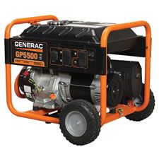 Generac manufactures a 5000 watt and 5500 watt portable generator.    We sold a bunch of the 5000 watt version last year during hurricane season.    The generators ran like a champ. Very solidly built at an affordable cost.    This year, Generac came out with a 5500 watt version for the same price.    So, instead of carrying last year's version, we decided to discontinue it and carry this model with an extra 500 watts.    You can find cheaper generators, but no where near the quality of Generac.