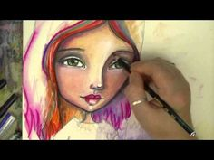 """The Making of """"Group Hug"""" - Mixed Media Art with Willowing - YouTube"""