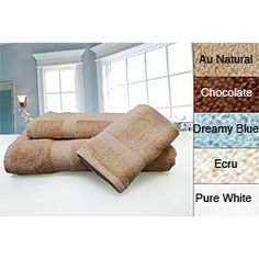 $49.00 Pure Fiber Organic Comb Cotton Towels Color Chocolate (Set of 3)  From Pure Fiber   Get it here: http://astore.amazon.com/ffiilliipp-20/detail/B0045NX0QO/182-9047725-8870625