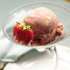 A sophisticated combination of heirloom strawberries and dark chocolate balsamic vinegar.