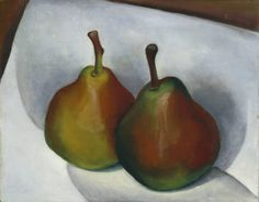 Untitled (Two Pears) :: Drawings, Paintings & Sculpture