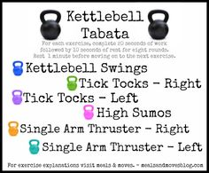 Kettlebell Tabata Workout