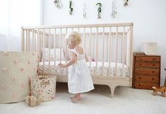 The Kalon CARAVAN CRIB RAW featured with Pehr Designs!