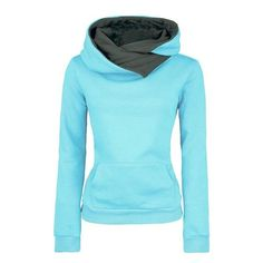 Women's High Collar Stylish Sweatshirt