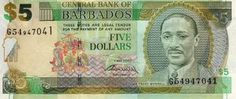 Banknote, Barbados, Ads, Baseball Cards, Coins