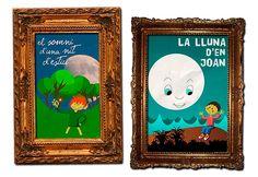 Carteles para público infantil: El somni dúna nit d'estiu y La lluna d'en Joan.