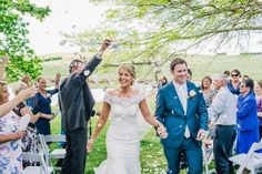 Just Married : Richelle + Jarred | Hannah Blackmore Weddings | Hannah Blackmore Weddings garden wedding