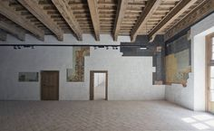 Restoration of a Spanish Renaissance Palace  Architecture studio Tabuenca & Leache is in charge of the restoration of a palace from the 16th century located in the historic quarter of Pamplona. Named El Condestable the building will see the fusion of the architectural styles mixing the renaissance and the contemporary by keeping the original wood beams.             #xemtvhay
