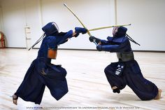 Kendo. I appreciate the skill but those uniforms they wear seem cumbersome. I'll stick to Kung Fu.