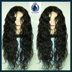 This custome made wig is made out of a 14 inch middle part closure with 20 22 24 inch bundles. The origin is peruvian and the textutr is body wave. I sprayed a little bit water to activate the curls and finger combed the hair.