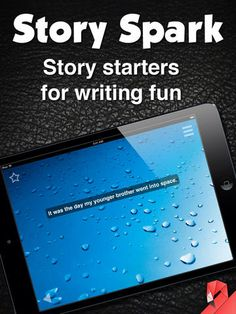 Story Spark ipad app (costs) - spark creativity in your writing with story starters