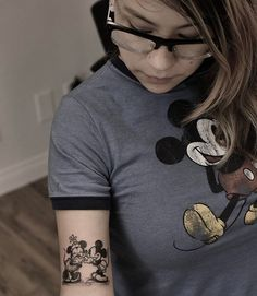 Sometimes, the small tattoos are the best ones. On a great client of mine. Yes, I still love doing all things Disney. #londonreese #theblacklanternoc #theblacklantern #blackandgreytattoo #disneytattoo #mickeytattoo #mickeyandminnie #mickeymouse #danapoint #oc #orangecounty #disney #mickeyandminnietattoo