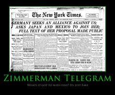 3: This is an example of a newspaper that published the breaking news about the decoded message. This really shows how the contents of this telegram was a big deal to the American population.