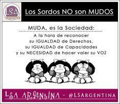 LSA - Lengua de Señas Argentina... ★ Learn To Sign, Deaf Culture, Easy Video, Sign Language, Signs, Learning, Tao, Random, Ideas