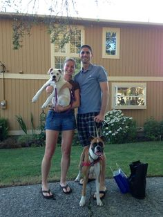 Ludy has a new family! Congrats to Andrea and Scott and Ludy's new big sis, Kiwi. Andrea and Scott are taking the day off tomorrow to get settled and they look forward to joining the adopter's community. Great job team!