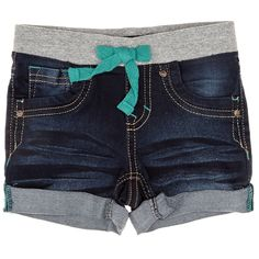 Elastic Denim Shorts (2T-4T)