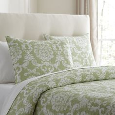 Alice Leaf Quilted Bedding Collection #birchlane