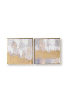 Buy Set of 2 Laguna Mist Canvases by Art For The Home from the Next UK online shop Neutral Tones, Box Frames, Canvas Frame, Mists, Hand Painted, History, Abstract, Metal, Gold