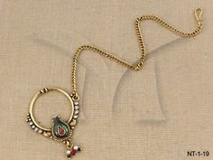 NT-1-19    Beautiful Wear Nath Jewellery