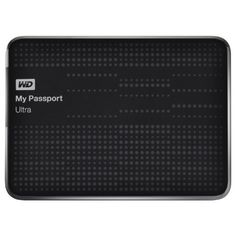 WD My Passport Ultra 2TB Portable External Hard Drive USB 3.0 with Auto and Cloud Backup - Black (WDBMWV0020BBK-NESN) for $105.00