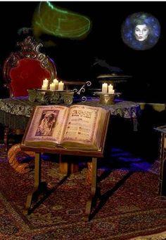Madame Leota's Room