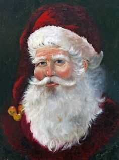 Santa Knows All by Bboop277 on Etsy, $40.00