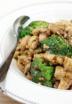 Recipe: Chicken Recipes / Chicken and Broccoli - tableFEAST