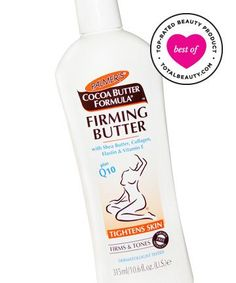 Best Body Firming Product No. 1: Palmer's Cocoa Butter Formula Firming Butter, $7.50