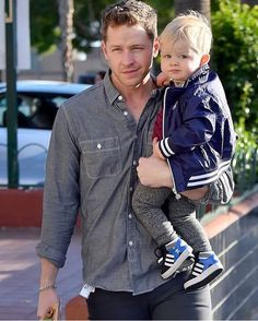 Josh and his son Oliver