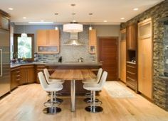 CHC Creative Remodeling - Lenexa Kansas Kitchen Remodel Project with center island seating