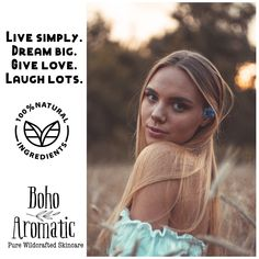 You've made it midweek Ladies! ✌🏼 …Good Vibes Only Club ✌🏻 Boho Aromatic Pure Wildcrafted Skincare!! #Greenbeauty #facecare #wednesdayvibes #organicskincare #naturalskincare #chemicalfree #veganbeauty #cleanbeauty 🍃 #crueltyfree #madeintheusa #facecream (Leaping Bunny 🐰 Certified). Find your next favorite Facecare line here www.bohoaromatic.com and Amazon Prime 🇺🇸!