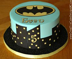Batman Cake by Creative Cake Designs (Christina), via Flickr