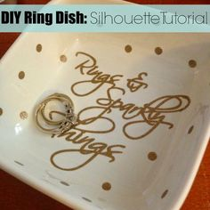 Silhouette School: Custom Ring Holder (And 20+ DIY Gifts)