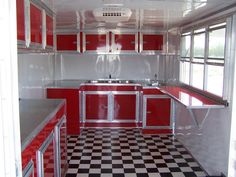 Custom built food trailers to your needs all units come standard with inside wall elec water lines 7 and 8 ft wide to Insulated walls and ceilings Insta hot water heater Pex color coated water. Food Truck Interior, Trailer Interior, Food Concession Trailer, Food Trailer, Porch For Trailer, Taco Cart, Bbq Smoker Trailer, Best Trailers, Enclosed Trailers
