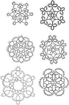 Tatting patterns.